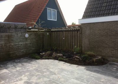 Tuinrenovatie en bestrating
