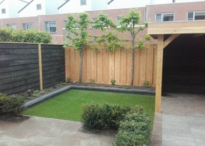 Tuin make-over in Sneek