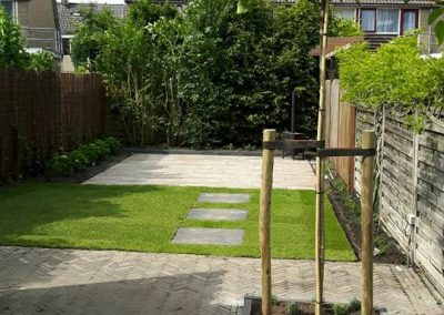 Tuin in Sneek na renovatie