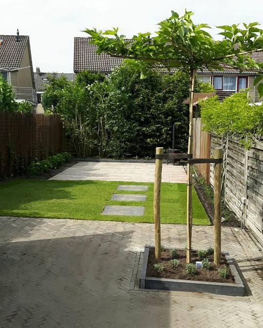 Kleinschalige tuinaanpassing