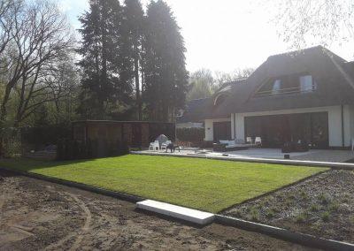 Nieuwe achtertuin