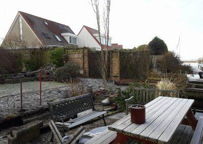 Tuin voor renovatie
