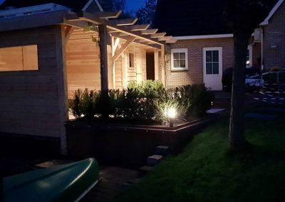 Tuinverlichting in Sneeker tuin